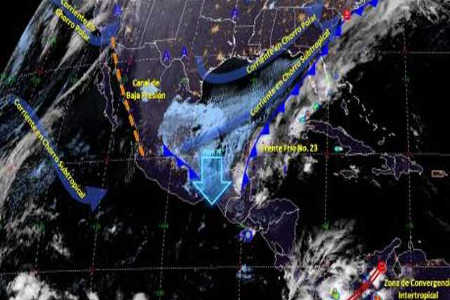 Pronóstico del tiempo en México para miércoles 18 de diciembre del 2019