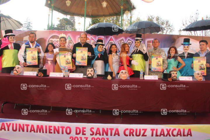 Del 23 de febrero al 17 de marzo llega el carnaval a Santa Cruz Tlaxcala: alcalde