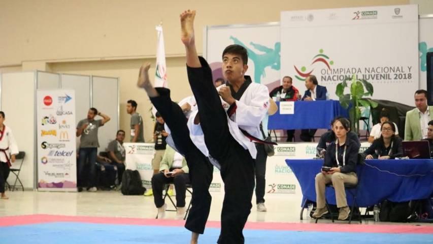 Llega segundo bloque de taekwonidoines a Chihuahua a la Olimpiada Nacional