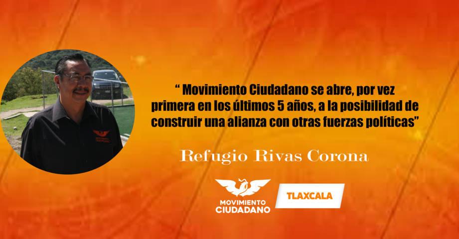 Movimiento Ciudadano dice sí, al Frente: Refugio Rivas Corona