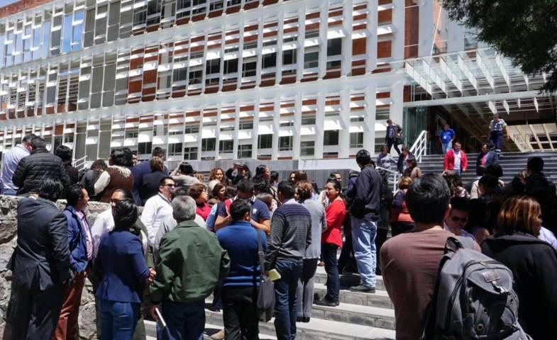 Realiza TSJE macro simulacro en Ciudad Judicial