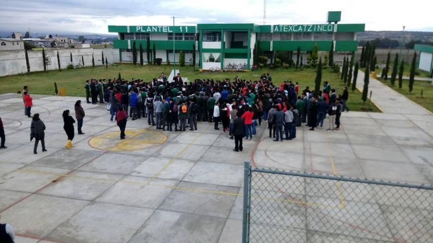 Implementa CECyTE Tlaxcala plan de emergencia escolar en planteles