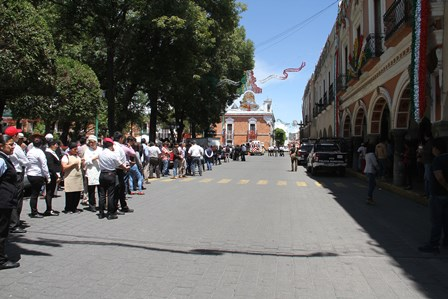 Participa comuna capitalina en Macro Simulacro 2018