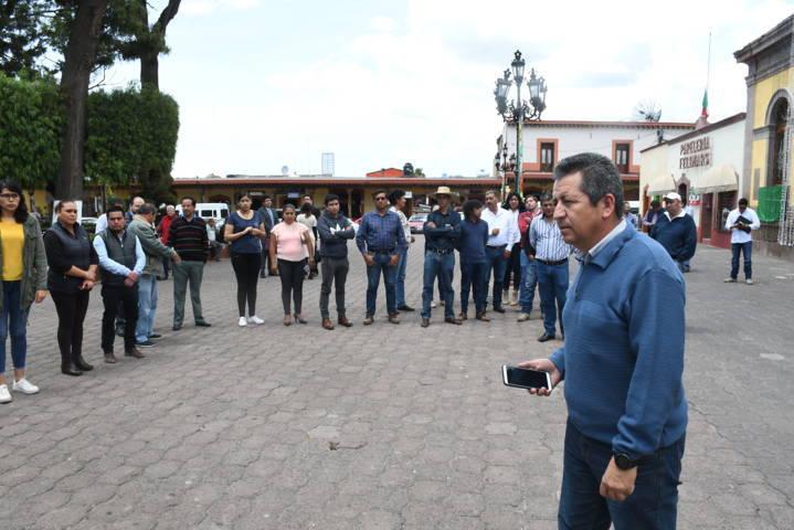 Participa Tlaxco en Mega Simulacro Nacional por el #19s
