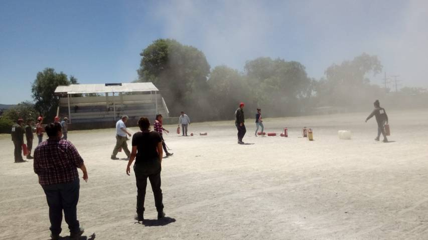Ayuntamiento promueve la prevención de sismos con simulacro