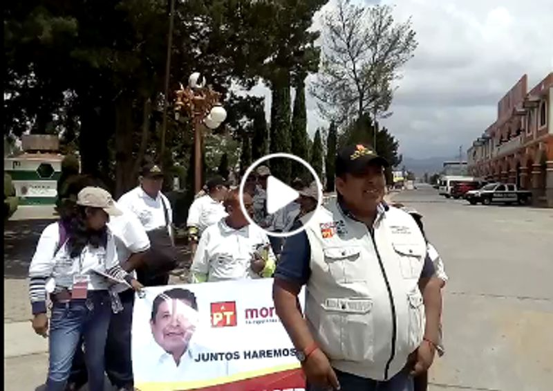 Recorrió VCL el municipio de Lázaro Cárdenas