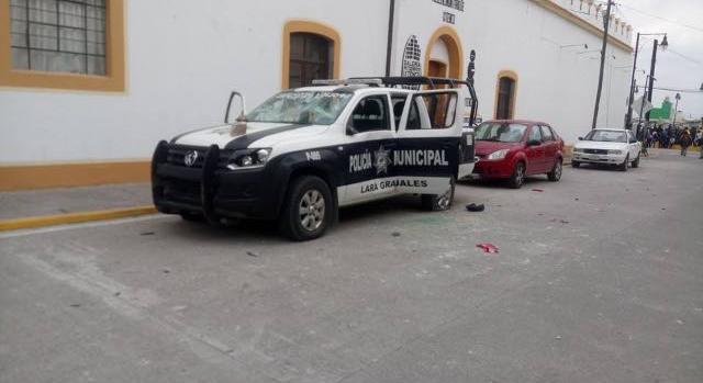 Pobladores denuncian intromisión de policías poblanos en Ixtenco
