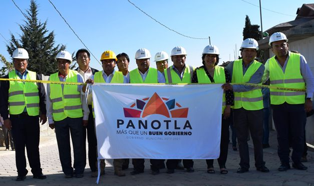 A cinco días de tomar protesta inauguran en Panotla obra de 2 mdp