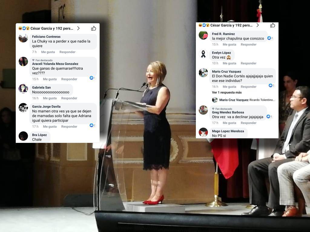 La destapa líder nacional del PAN y la tunden en redes sociales por traidora
