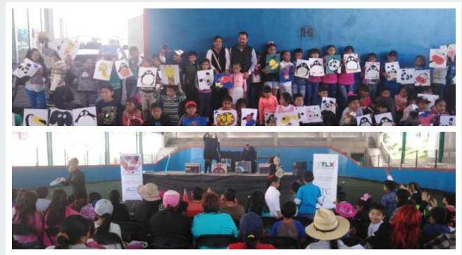 Un éxito en San José Teacalco el programa Centro de las Artes