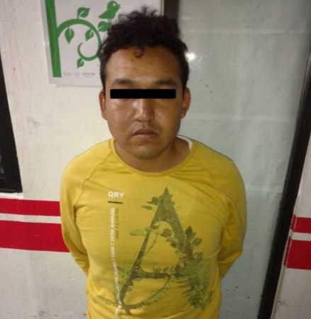 Policía municipal de Ixtacuixtla detienen a presunto narcomenudista