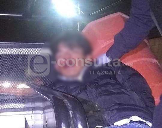 Bandido se salva de ser linchado en Mazatecochco