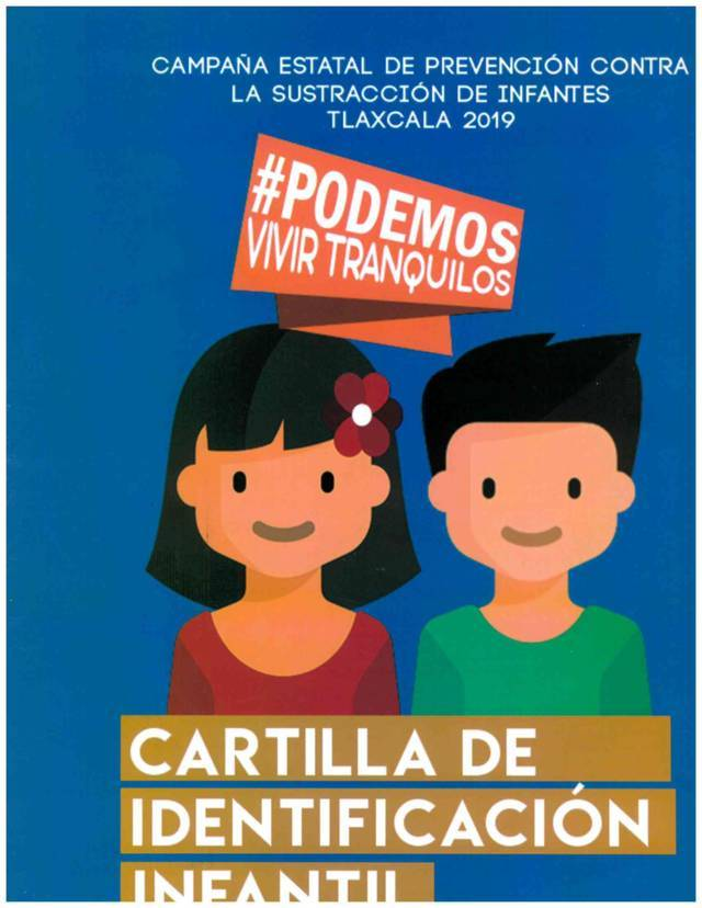 """Ayuntamiento se sumará a la campaña de """"Cartilla de Identificación Infantil"""""""