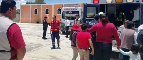 Explota pirotecnia en atrio de iglesia en Ixtacuixtla y deja 12 lesionados