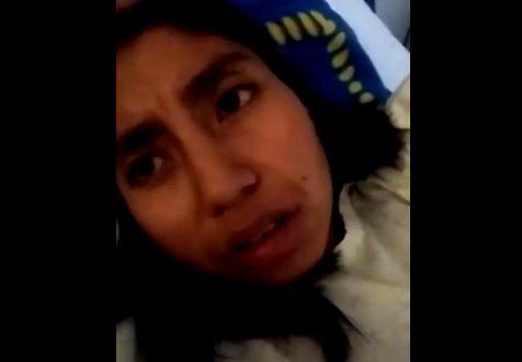 Joven denuncia negligencia médica en Hospital Comunitario de Zacatelco