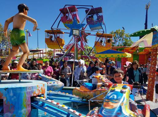 Visitaron la Feria Tlaxcala 2017 infantes de varios municipios