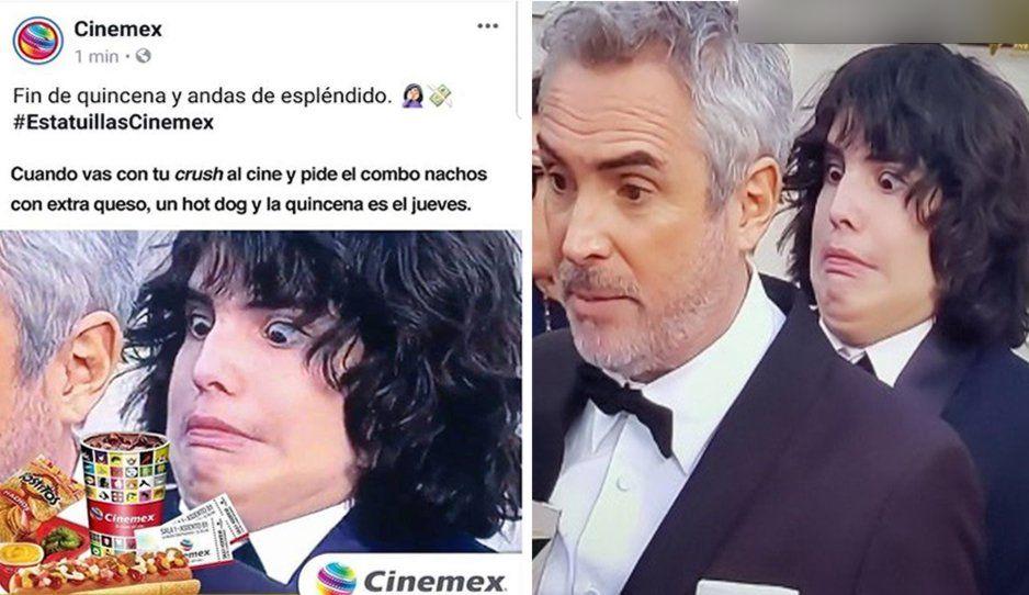 Cinemex y cibernautas se burlan del hijo de Cuarón; el joven tiene autismo