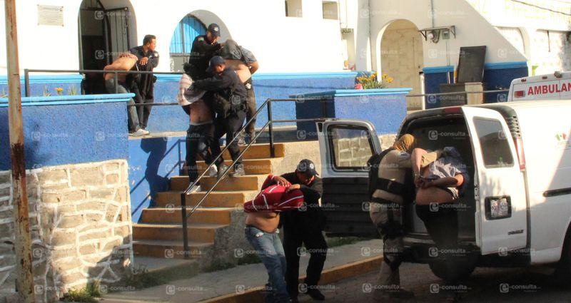 En persecución policías detienen a presunta banda de secuestradores