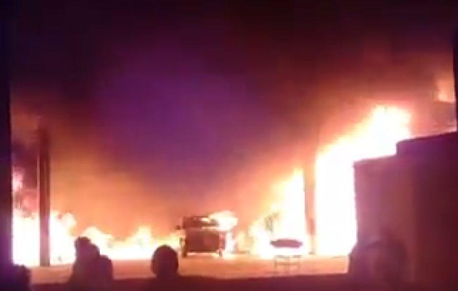 60 familias reciben año nuevo siendo evacuadas por incendio