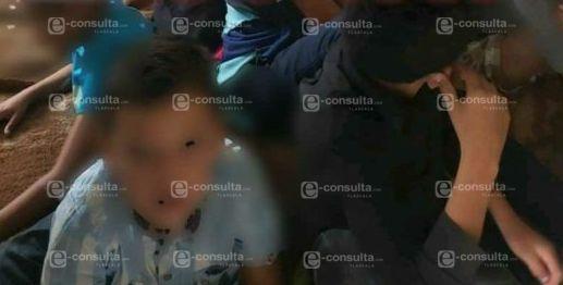 Rescatan a 57 indocumentados en Yauhquemehcan, dos bebés entre ellos