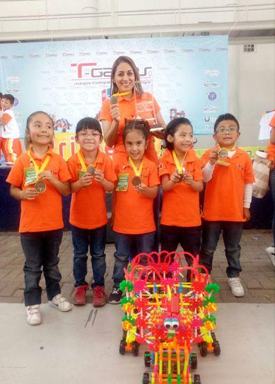 Primer lugar para Tlaxcala en preescolar de robótica