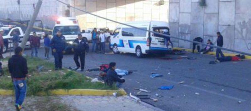 Dos muertos y 10 lesionados en la vía corta