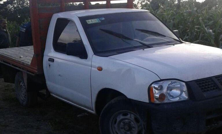 Policía Municipal implementa operativo y recupera camioneta robada