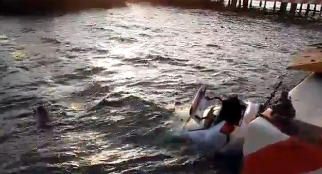 Tres tlaxcaltecas se van al mar con todo y auto en Veracruz