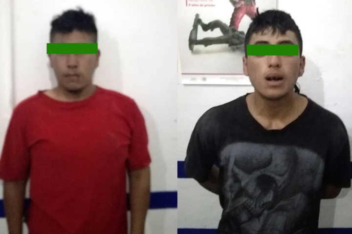 Policía de Amaxac frustra robo a casa habitación
