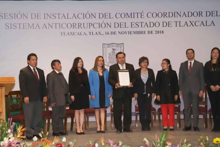 Instalan Comité Coordinador del Sistema Anticorrupción del Estado