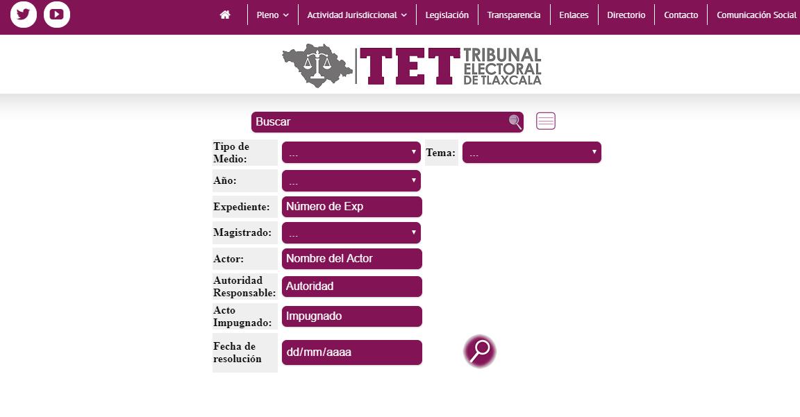 Pone TET en marcha sistema informático único en el país de consulta de sentencias