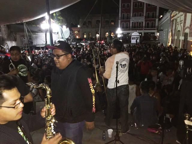 Con concierto de SKA, celebra municipio de Tlaxcala Día de la Juventud