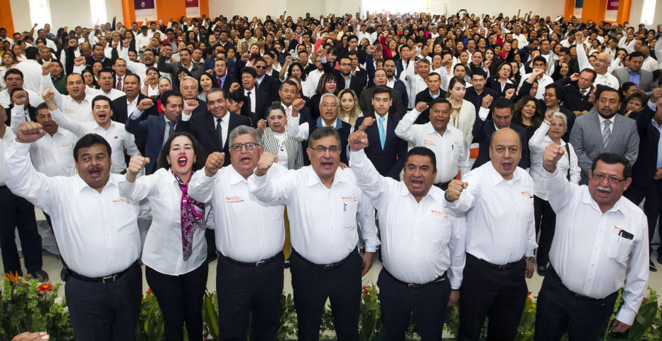 El SNTE tiene rumbo y es hacia el futuro: Alfonso Cepeda