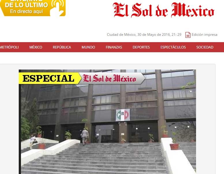Sondeos para gobernador dan ventaja a PRD en Tlaxcala: ESDM