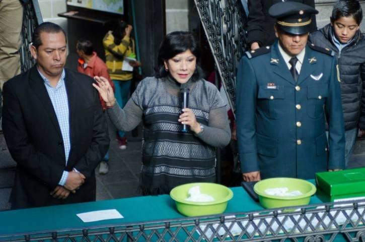 Encabeza alcaldesa Anabell sorteo del Servicio Militar en la capital