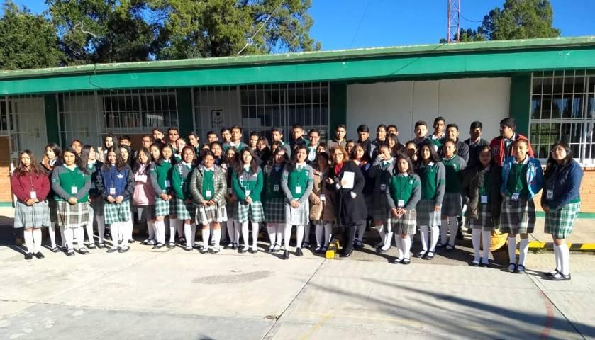 "Realizó Cecyte 6o Concurso Estatal ""Spelling Challenge 2018"""