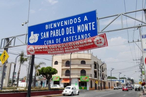 Dejan embolsado en los límites de Tlaxcala y Puebla