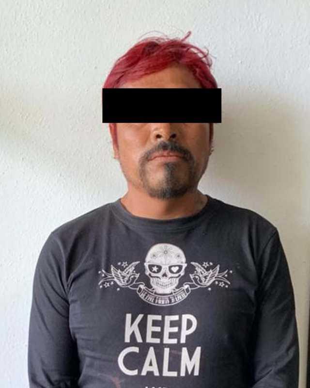 Policía Estatal detiene en Chiautempan a persona con enervantes
