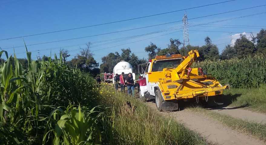 En trabajo coordinado la SSC y Policía Municipal aseguran una  toma clandestina en Nativitas