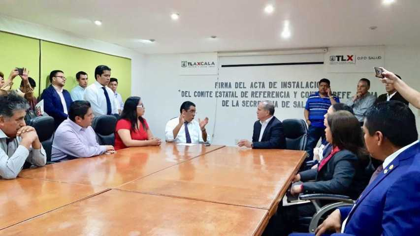 Reconoce SESA a nuevo sindicato de salud en Tlaxcala