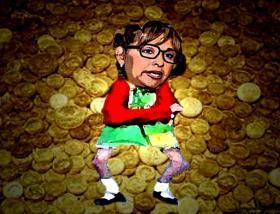 Lorena Cuéllar y el yerno que hoy presume riqueza