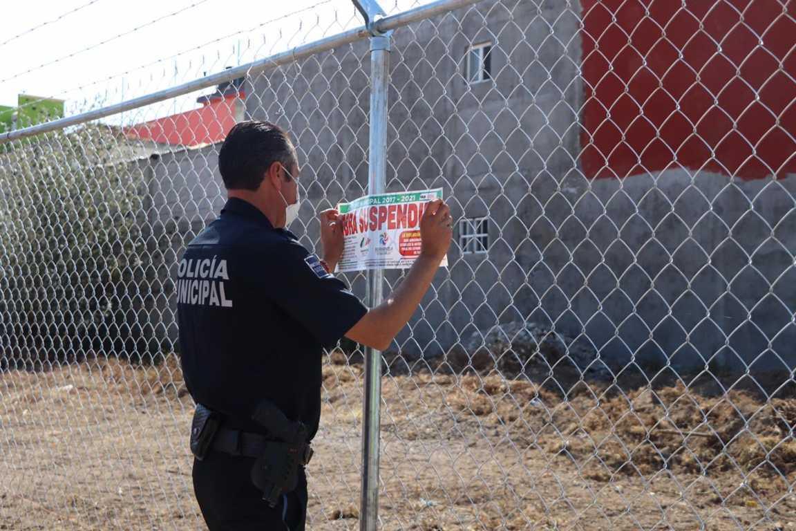 Autoridades municipales dialogan con manifestantes de fraccionamiento Nuevos Horizontes