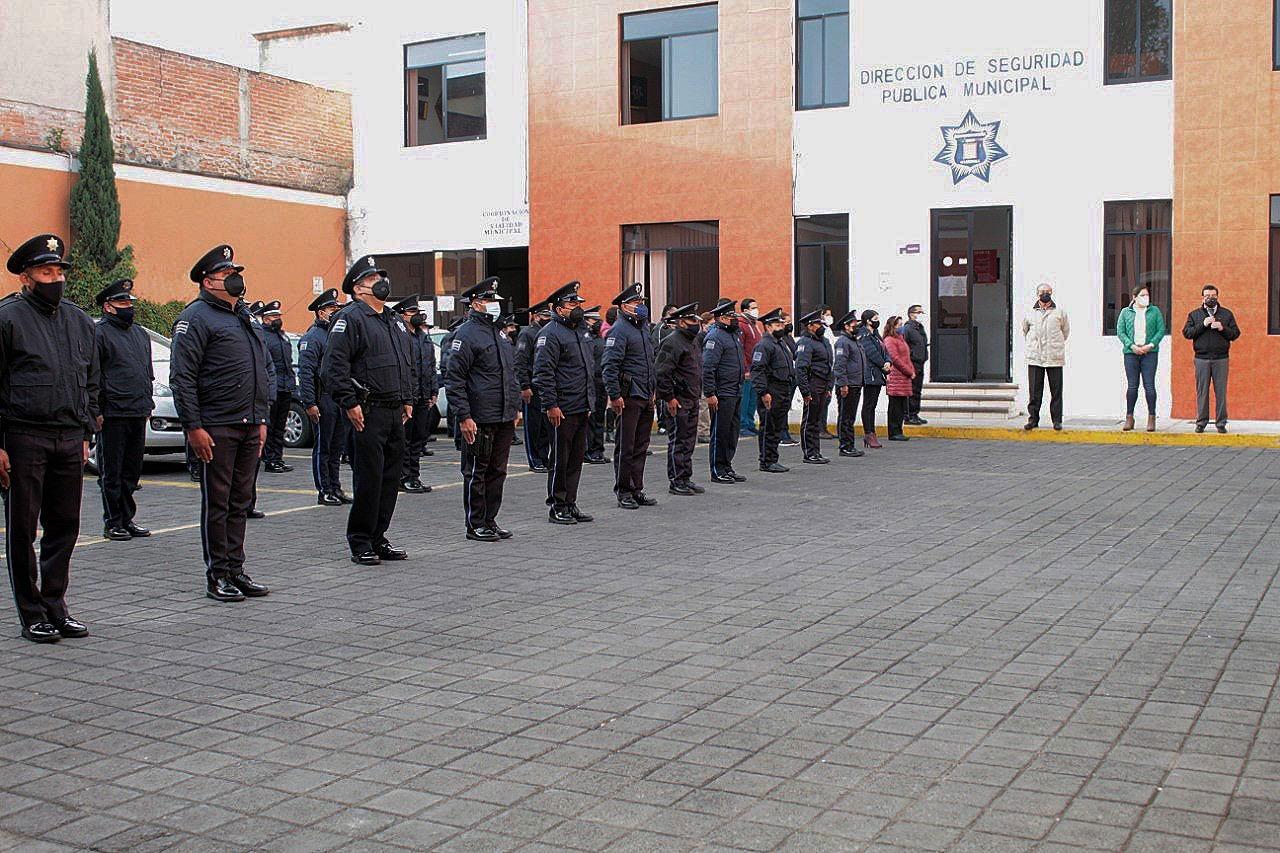 Exhorta Mildred Vergara a policías capitalinos a conducirse con honestidad y transparencia