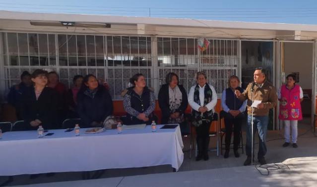 Alcalde de Tetla anuncia obra para jardín de niños