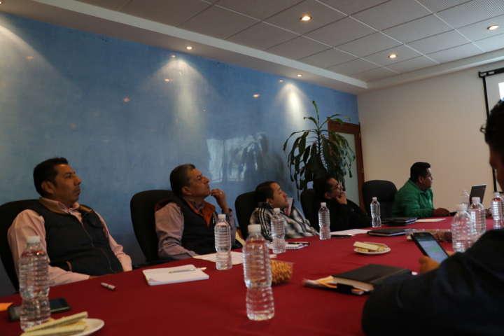 Capama se reune con la Comisión de Agua en Apizaco