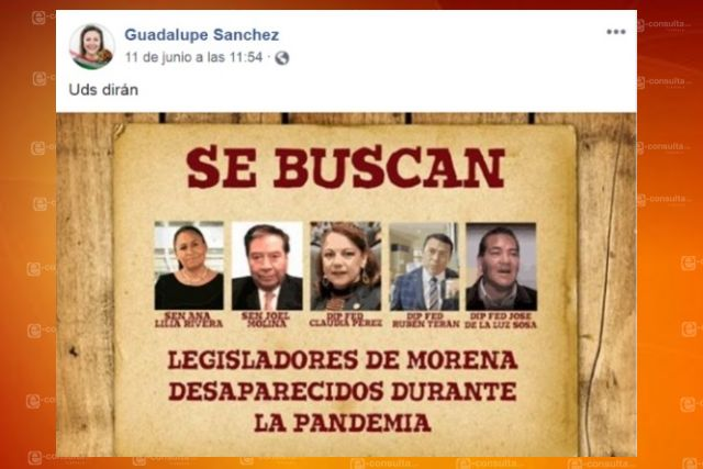 Panista de closet exige presencia de diputados y senadores de Morena