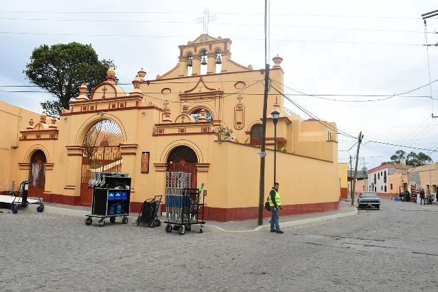 Reanudarán grabación de serie fue del centro histórico de Tlaxco