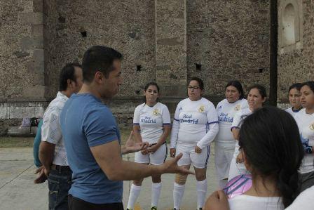 En Tepeyanco buscamos mejorar la vida de los jóvenes: Bladimir