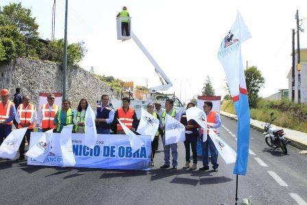 Rehabilitarán alumbrado público de la carretera Tlaxcala-Puebla