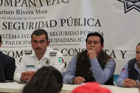 Con la suma de esfuerzos disminuiremos la delincuencia: Rivera